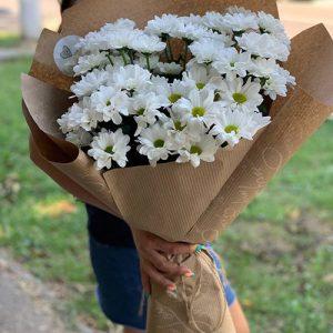 букет ромашковых хризантем в Одессе фото