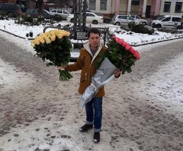 заказать розы в одессе