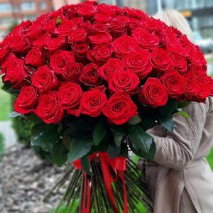101 метровая роза в Одессе фото