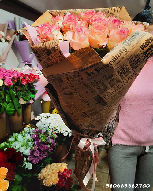 букет роз Джумилия